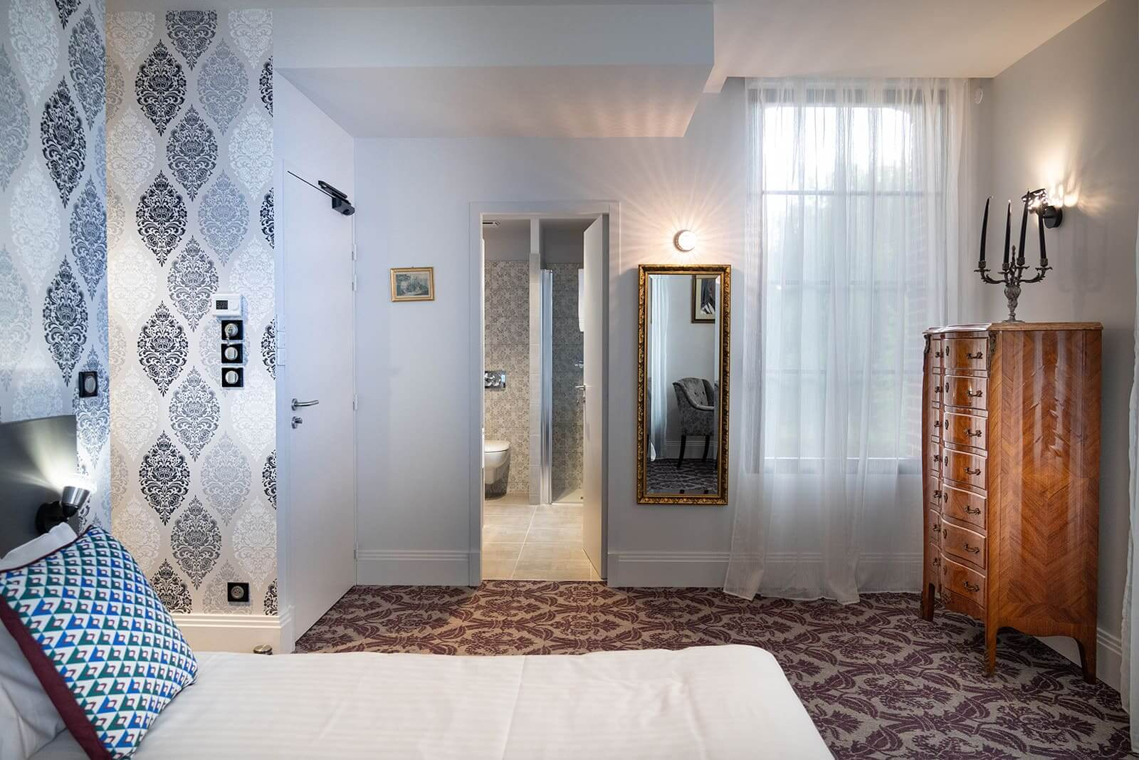 Chambre Chambres Prestiges | Le Manoir de Joséphine - 9